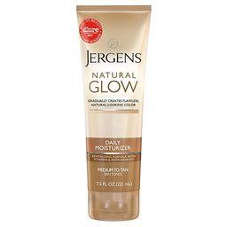 Self Tanner - Jergens Natural Glow Sunless Tanning Lotion, Medium to Deep Skin Tone, Daily Moistu...   Amazon (US)