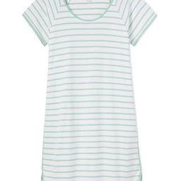 Pima Nightgown in Spring Green | LAKE Pajamas