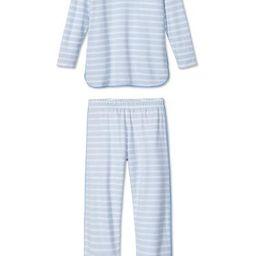 Pima Long-Long Set in Seaside | LAKE Pajamas