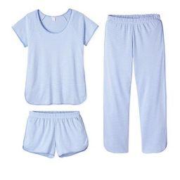 Pima Bundle in Hydrangea | LAKE Pajamas