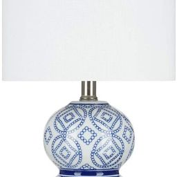 """Amazon Brand - Stone & Beam Traditional Chinoiserie Ceramic Table Lamp, LED Bulb Included, 19.5""""H... 