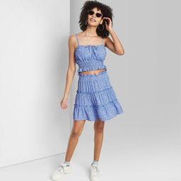 Women's Tiered Mini Skirt - Wild Fable™ | Target