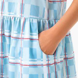 Westport Trellis Sleeveless Hayes Shirt Dress | Tuckernuck (US)