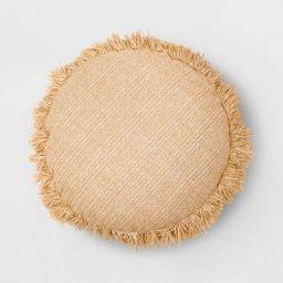 Round Throw Pillow Natural - Opalhouse™ | Target