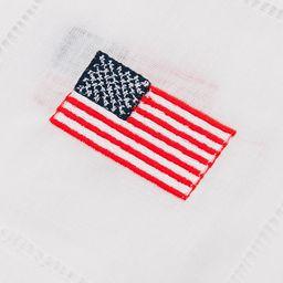 American Flag Embroidered Cocktail Napkins   Tuckernuck (US)