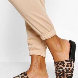 Leopard Print Woman Slider | Boohoo.com (US & CA)