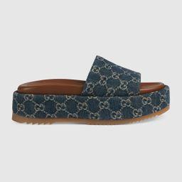 Women's platform slide sandal   Gucci (US)