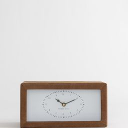 Leather Wrapped Clock | McGee & Co.