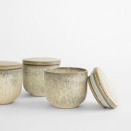 Lidded Glazed Jar   McGee & Co.