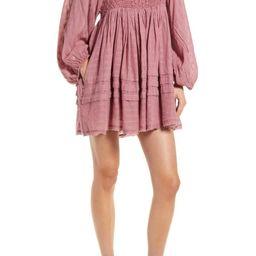 Ari Long Sleeve Minidress | Nordstrom