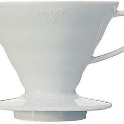 Hario V60 Ceramic Coffee Dripper, Size 02, White | Amazon (US)