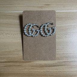 Luxury GG Inspired Stud Earrings   Etsy (US)