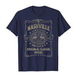 Nashville Music City USA Vintage T-Shirt   Amazon (US)