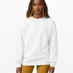 Perfectly Oversized Crew   Women's Hoodies & Sweatshirts   lululemon   Lululemon (US)