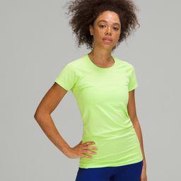 Swiftly Tech Short Sleeve 2.0   Women's Short Sleeve Shirts   lululemon   Lululemon (US)