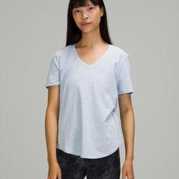 Love Tee Short Sleeve V-Neck T-Shirt   Women's Short Sleeves   lululemon   Lululemon (US)