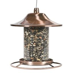 Perky-Pet Copper Panorama Hanging Bird Feeder - 2 lb. Capacity-312C - The Home Depot | The Home Depot