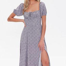 Floral Self-Tie Midi Dress | Forever 21 (US)