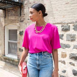 Vintage Hot Pink Blouse | Etsy | Etsy (US)