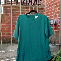 Vintage Green Blouse | Etsy | Etsy (US)