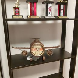 Rustic vintage airplane table clock | Etsy | Etsy (US)