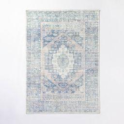 7'x10' Brighton Distressed Vintage Persian Rug Light Blue - Threshold designed with Studio McGee | Target