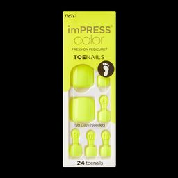 imPRESS Color Press-on Pedicure - Got it | KISS, imPRESS, JOAH
