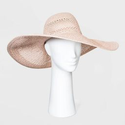 Women's Open Weave Floppy Hats - A New Day™ One Size | Target