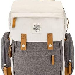 Parker Baby Diaper Backpack - Large Diaper Bag with Insulated Pockets, Stroller Straps and Changi... | Amazon (US)