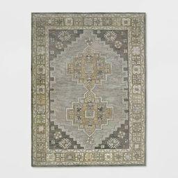 Persian Geometric Tufted Rug Area Tan - Threshold™ | Target