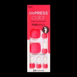 imPRESS Color Press-on Pedicure | KISS, imPRESS, JOAH