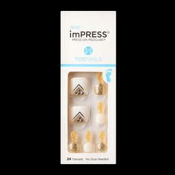 imPRESS Press-on Pedicure   KISS, imPRESS, JOAH