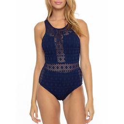 BCA By Rebecca Virtue Women's Arianna Crochet One Piece Swimsuit | Walmart (US)