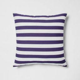Indoor/Outdoor Striped Throw PillowNavy/White - Sun Squad™ | Target
