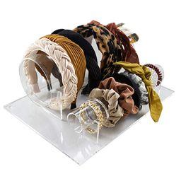 Headband Holder Organizer and Scrunchie Holder - Vanity Display - Hair Accessory Organizer - 2-in... | Amazon (US)