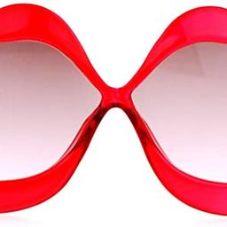 SA106 Love Lip Shape Kiss Womens Sunglasses | Amazon (US)
