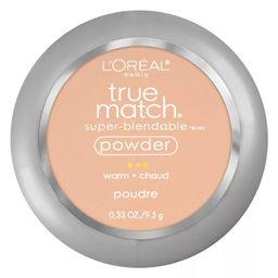 L'Oreal Paris True Match Makeup Super Blendable Oil-Free Pressed Powder - 0.33oz   Target