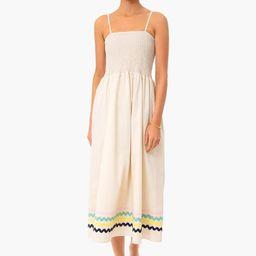 Stone Spaghetti Strap Midi Dress | Tuckernuck (US)