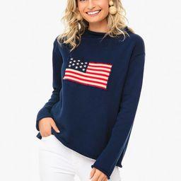 Navy Americana Sweater | Tuckernuck (US)