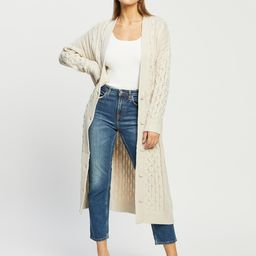 Cosmo Cable Longline Cardigan | THE ICONIC (AU & NZ)