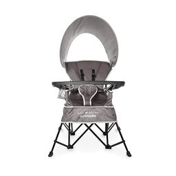 Baby Delight Go with Me Chair | Indoor/Outdoor Chair with Sun Canopy | Gray | Portable Chair conv... | Amazon (US)
