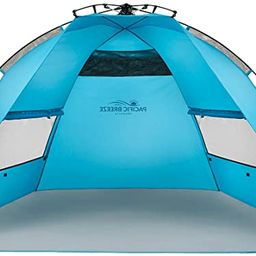 Pacific Breeze Easy Setup Beach Tent | Amazon (US)