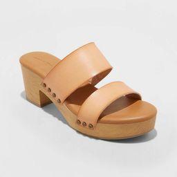 Women's Raegan Mule Clog Heels - Universal Thread™   Target
