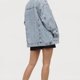 Super-oversized Denim Jacket   H&M (US)