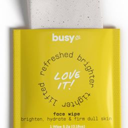 Busy Go Glow Face Wipes   Nordstrom