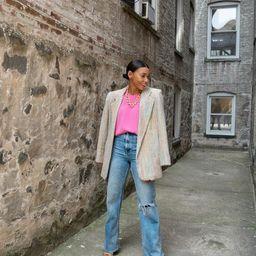 Vintage 60s Multi Colored Tweed Blazer   Etsy   Etsy (US)