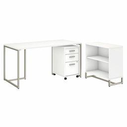 Denair Desk and Bookcase Set   Wayfair North America
