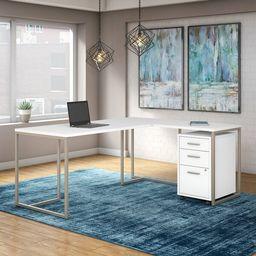 Denio 2 Piece Office Set   Wayfair North America