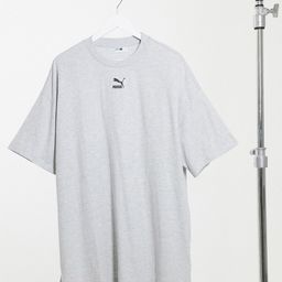 Puma t-shirt dress in gray-Grey | ASOS (Global)