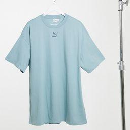 Puma t-shirt dress in blue-Blues | ASOS (Global)